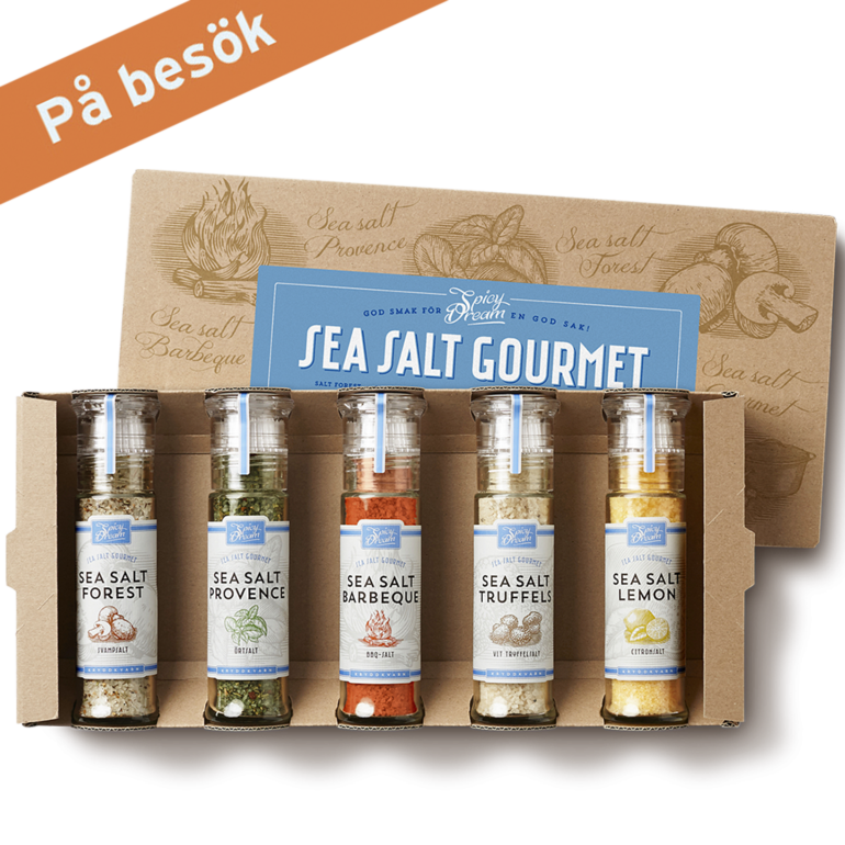 Sea Salt Gourmet 5-pack