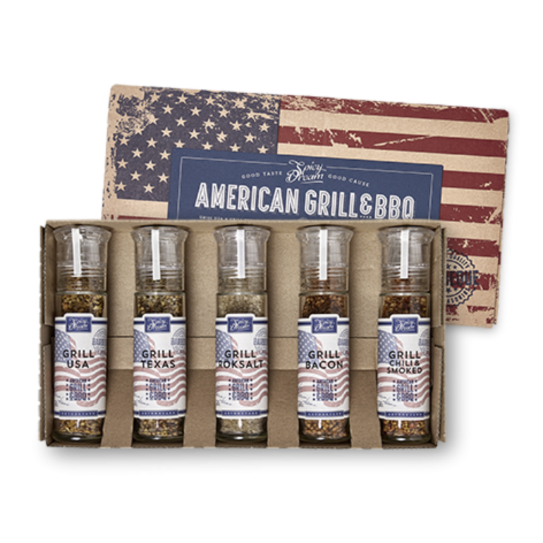 American Grill & BBQ 5-pack
