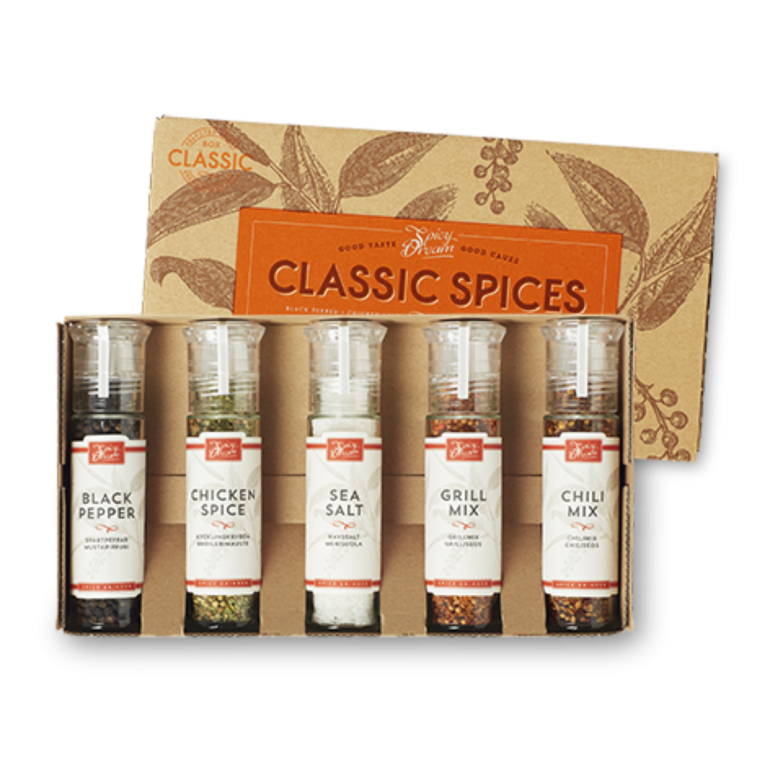 Classic Spices 5-pack