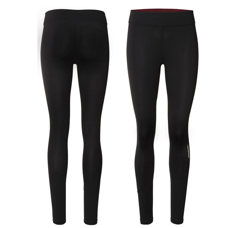 Running Tights, bordeaux linning